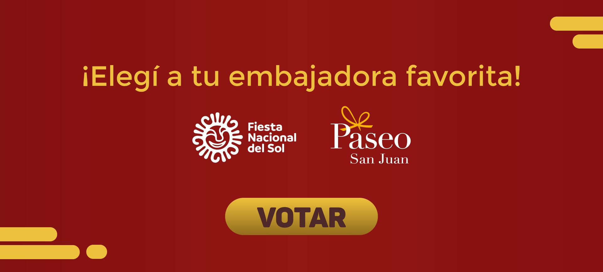 Votación Fiesta Nacional del Sol